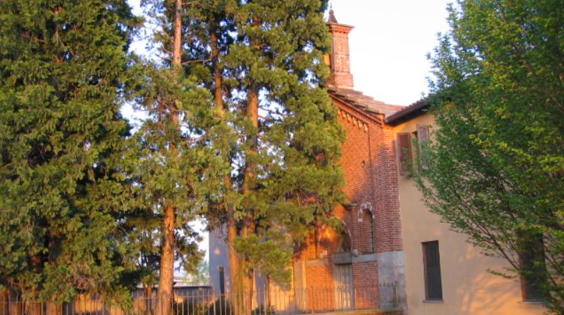 Messa nella chiesetta di Sant Ambrogio